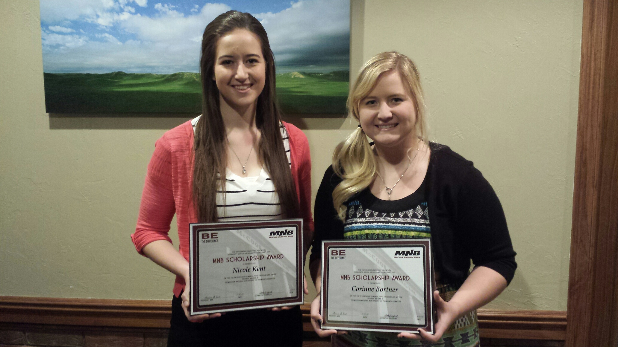 MNB Student of the Month Scholarship Winners Announced