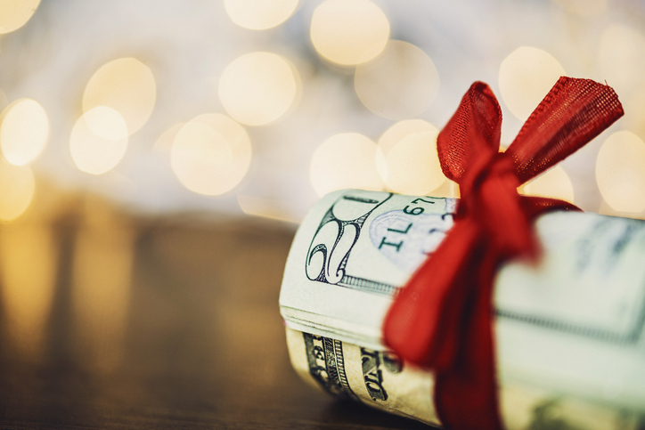 Creative Ways to Give Cash this Christmas