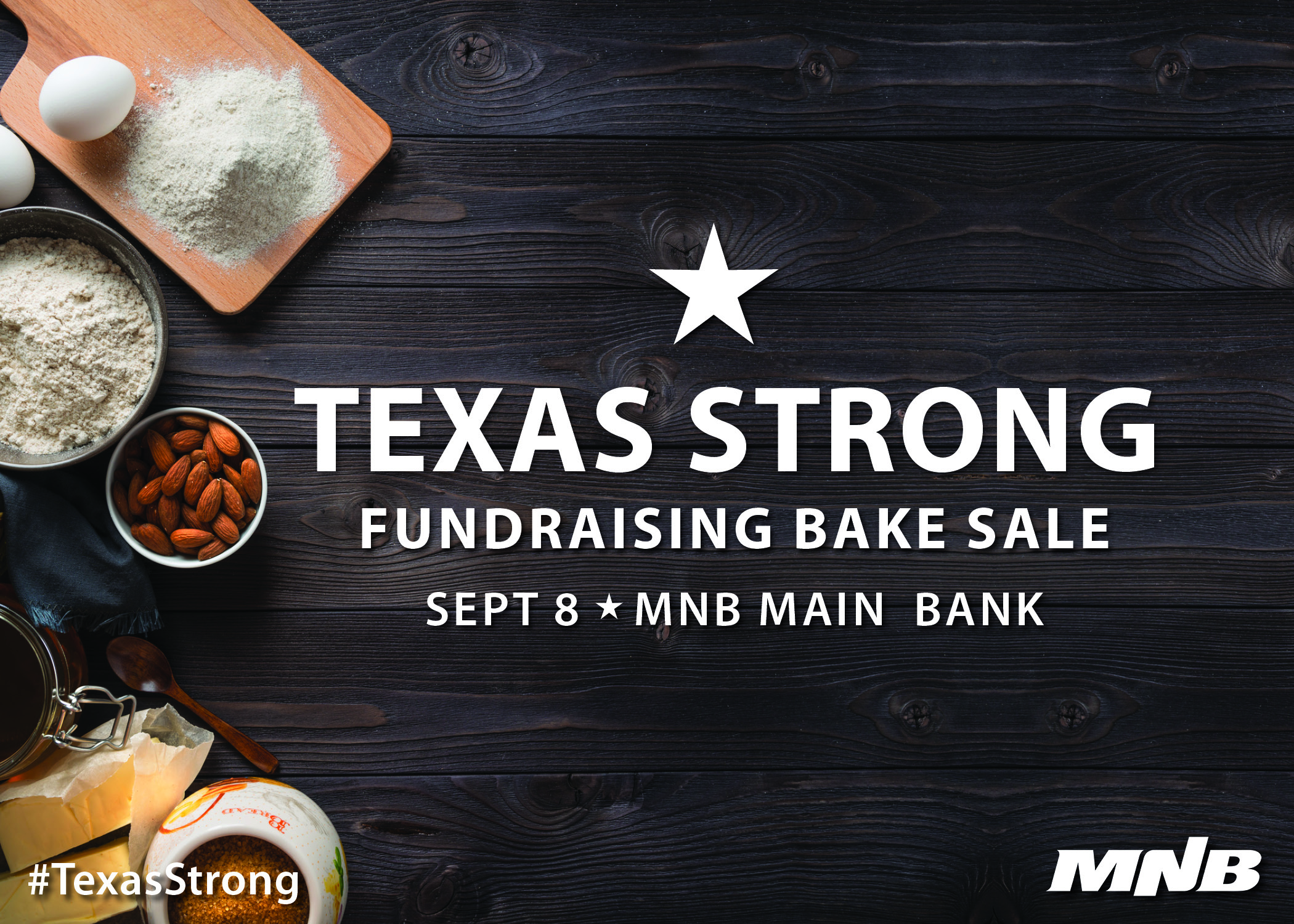 Hurricane Harvey Relief Fundraising Bake Sale